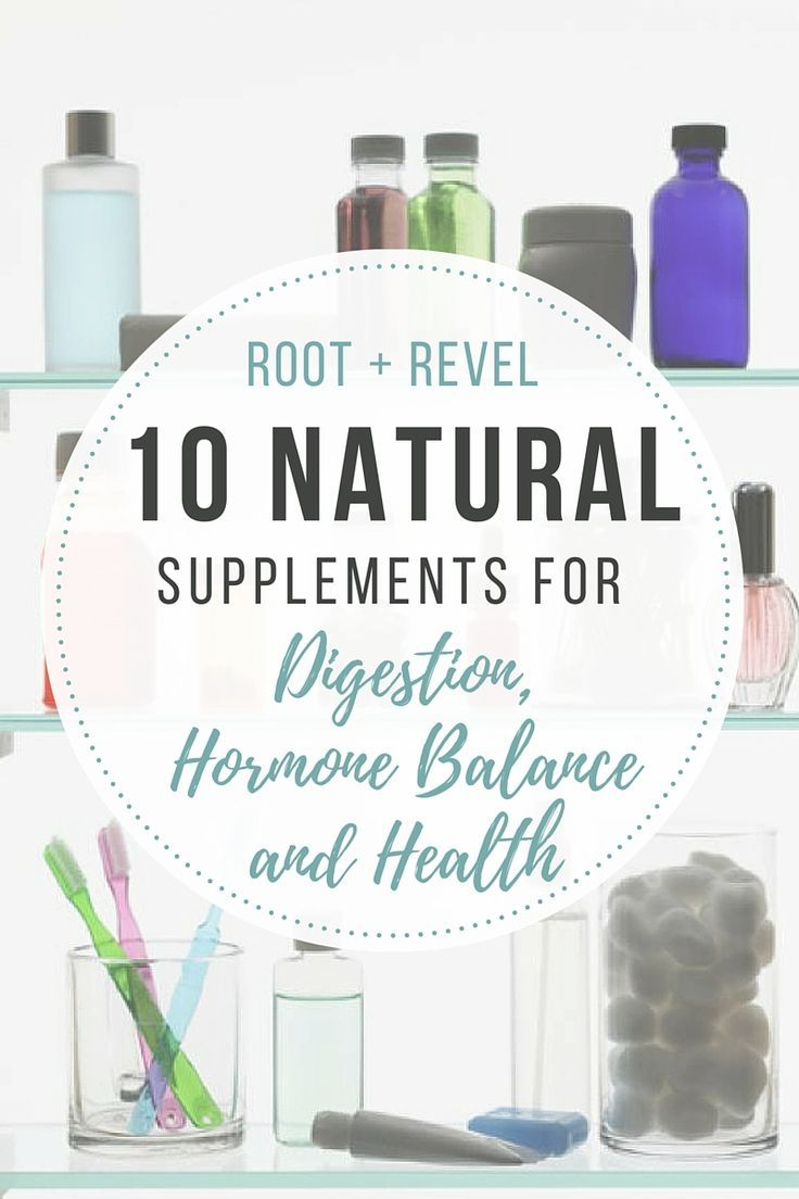 Say goodbye to prescription medication! Here are 10 effective, safe and natural supplements for digestion, hormones and healing.