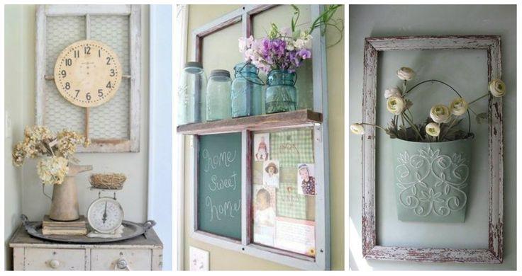 Tra mensole e cornici fai da te sono davvero tante le opzioni Shabby Chic che permettono di cambiare radicalmente il volto dei muri della casa.