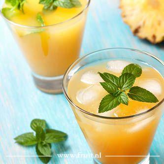 Homemade mango ijsthee recept
