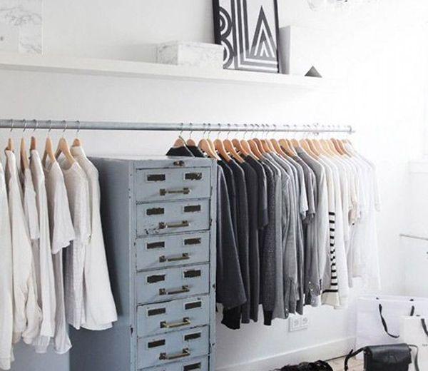 Geef toe, wie wil er nu géén garderobe als deze? Open, licht en gestructureerd. Deze kleerkasten vormen een bron van inspiratie.