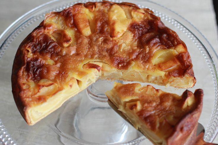 Une recette inratable de Gâteau aux pommes et au beurre salé au Thermomix sur Yummix • Le blog dédié au Thermomix !