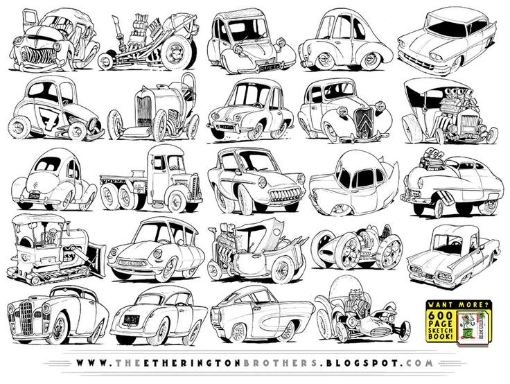 24 Retro Vehicle Concepts by STUDIOBLINKTWICE