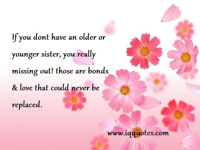 Big Sister Quotes  Big Sister Quote  Big Sister Quotations