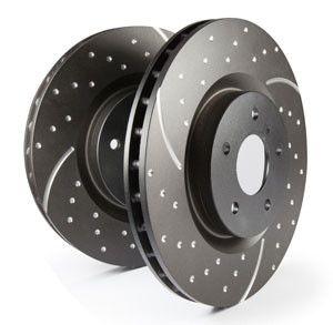 EBC 2007-2012 Nissan Sentra SE-R Spec V/ 2010-2012 Nissan Sentra SE-R GD Sport Front Rotors (12.6in Dia/ Set of 2)