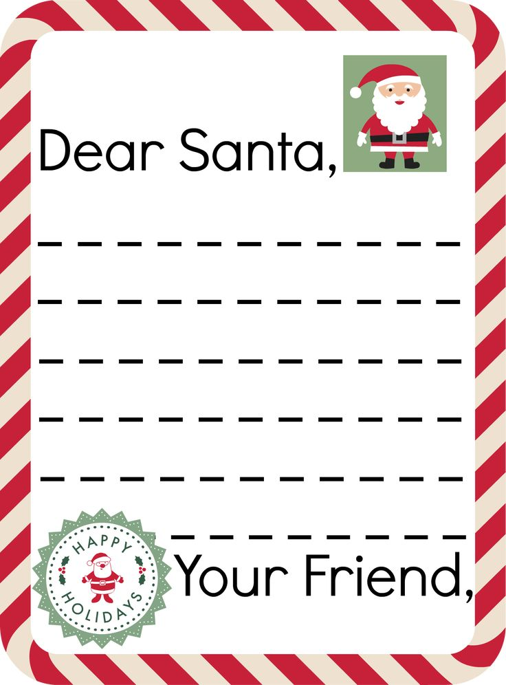 Free Santa Stationary + Where To Send Letters To Santa and Get a (Free!) Letter Back From Santa!! (She has both addresses for the US & Canada)