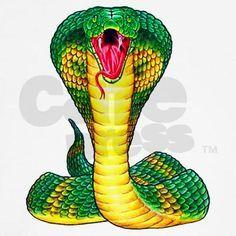 King Cobra Art | Cobra Snake Tattoo Art Front Womenaposs Tank Top By ...