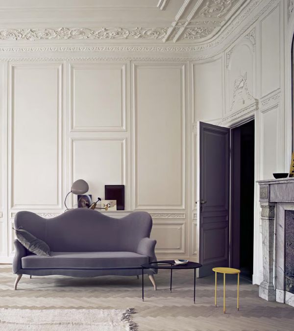 French Interior Wall And Ceiling Paneling