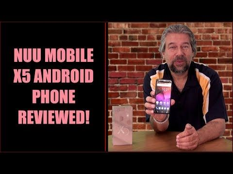 Looking for an elegant budget Android smartphone? You'll want to learn more about the slick NUU Mobile X5! My review...