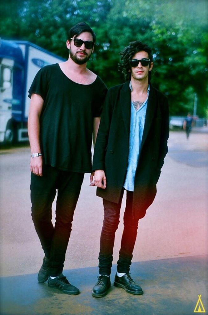 The 1975 // Matty and Ross