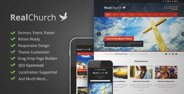 Download and review of Real Church - Responsive Retina Ready Theme, one of the best Themeforest Non-profit themes {Download & review at|Review and download at} {|-> }http://best-wordpress-theme.net/real-church-responsive-retina-ready-download-review/