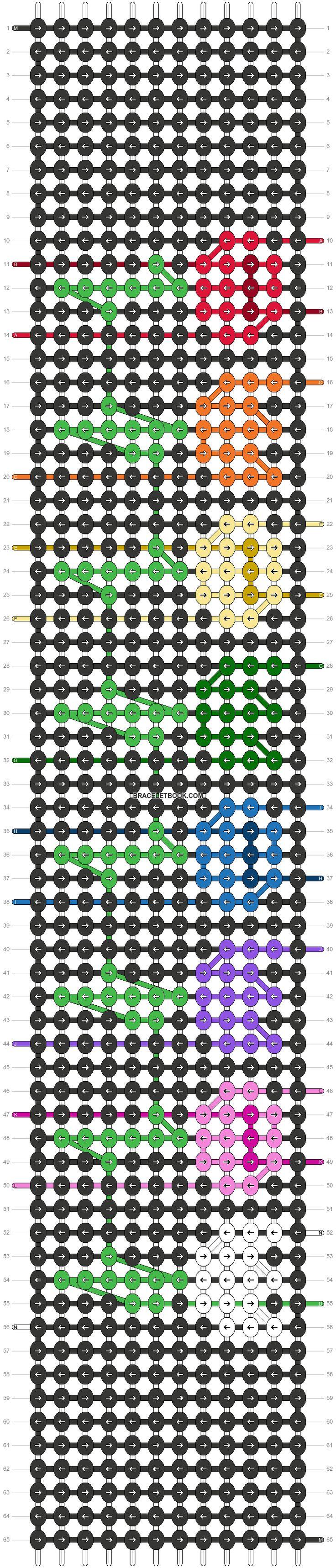 Pin On Pryamoe Pletenie Alpha Pattern