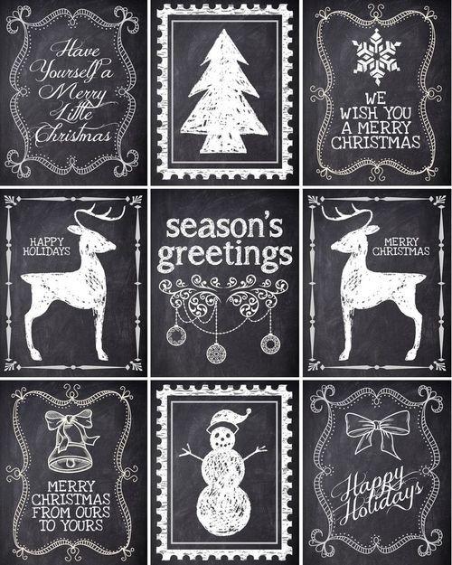 Christmas is Coming ~ FREE printable Christmas gift tags! on imgfave