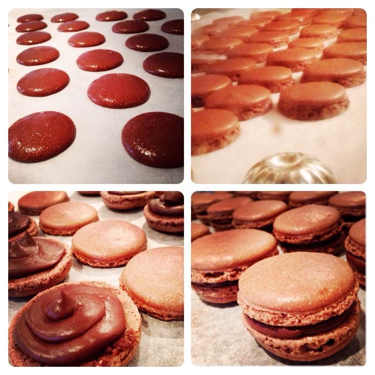 La BKRY chocolate macaron with ganache Natasha Bouchard