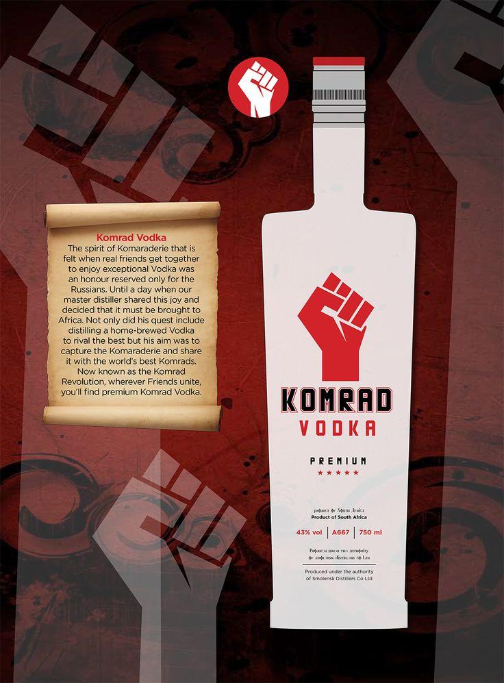 a design pitch for a vodka label