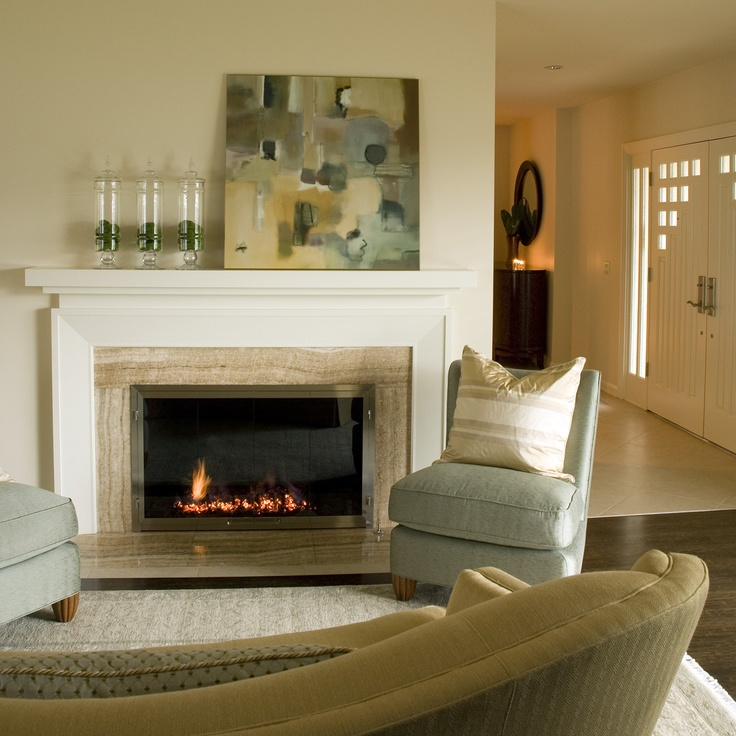 Classic Contemporary Fireplace
