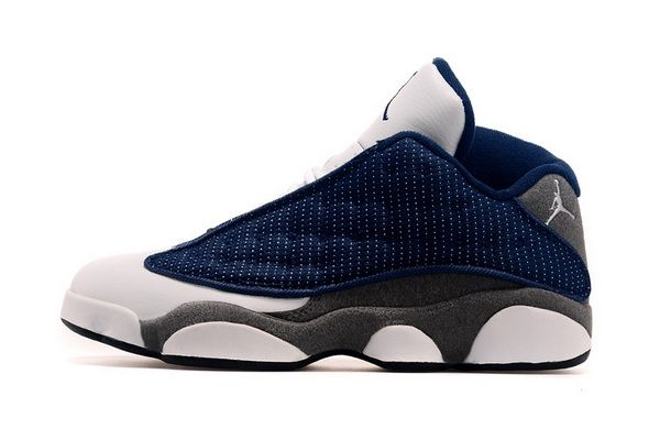 0bce2fe36a6 Popular Air Jordan 13 XIII Flints French Blue University Blue Flint Grey  Discount Sale Cheap Jordans