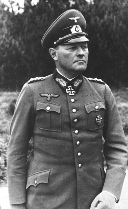 Erich Hoepner (14 September 1886 – 8 August 1944) was a German general in World War II. A successful panzer leader, Hoepner was executed after the failed 20 July Plot in 1944.
