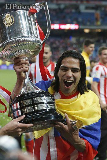 Falcao García, la cuota colombiana en el título del Atlético de Madrid - diario El Pais