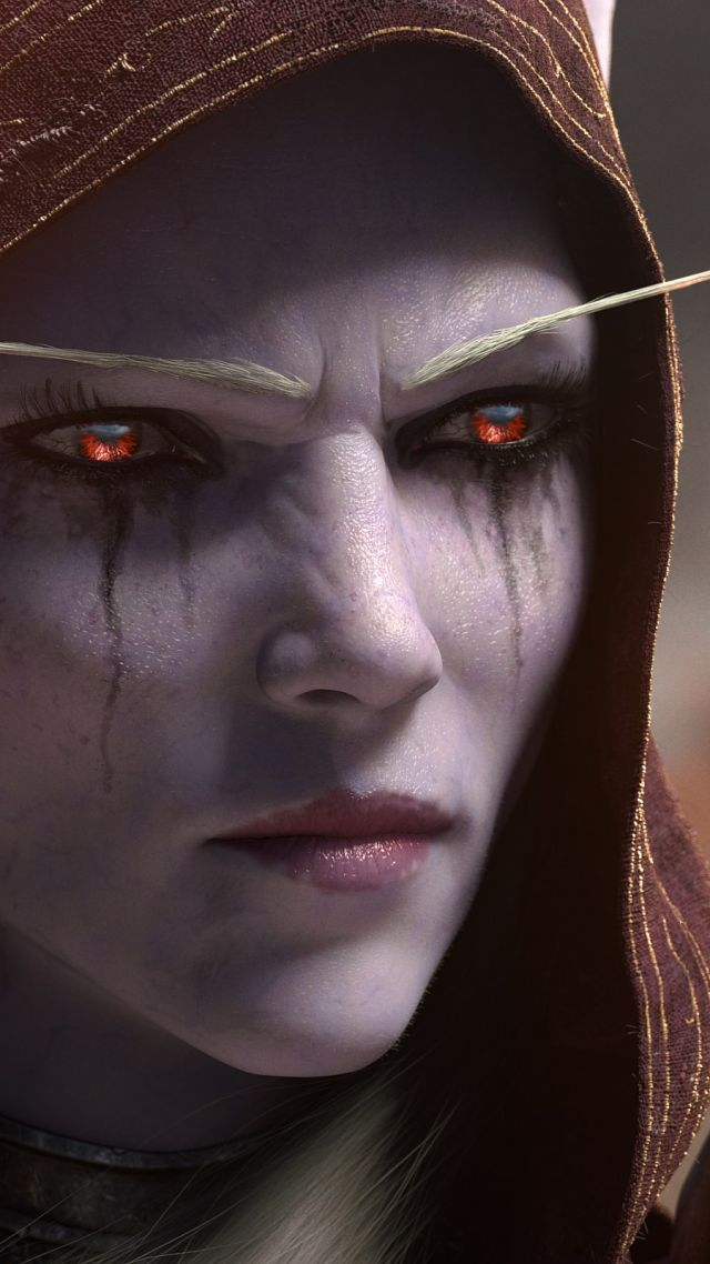 World Of Warcraft Battle For Azeroth Screenshot 4k Vertical World Of Warcraft Wallpaper Sylvanas Windrunner World Of Warcraft
