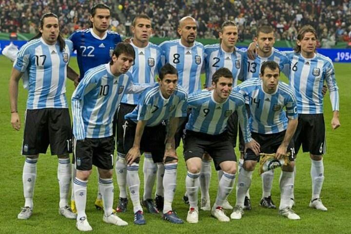 Go Argentina Soccer Team