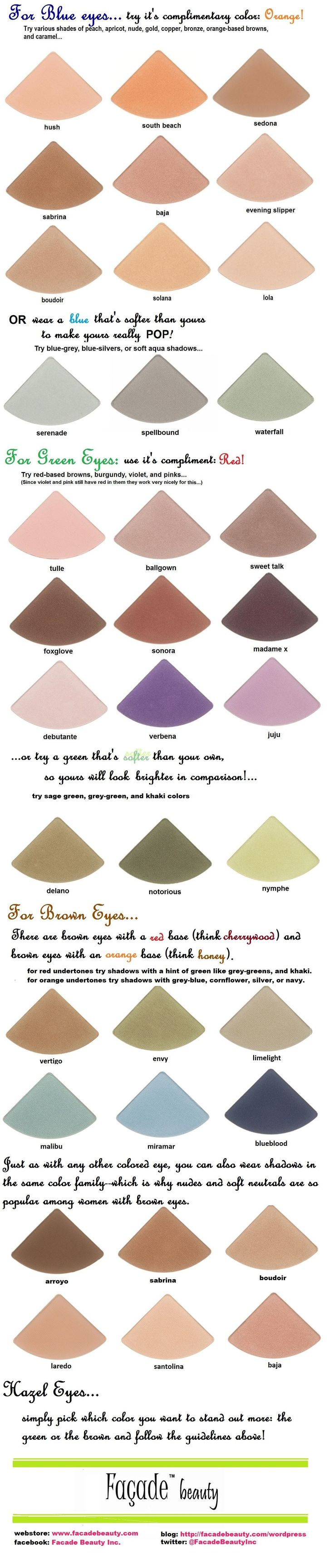 The 25 best brown hair colours for blue eyes ideas on pinterest excellent chart for best eyeshadows for blue green brown hazel eyes i will say though that sometimes picking a shadow the same color as your eye nvjuhfo Image collections