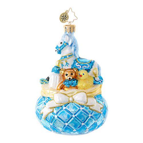Christopher Radko Ornaments   Radko Baby Baby's Bounty 1018840