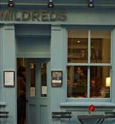 mildreds vegetarian restaurant
