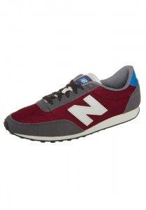 Retro Mens New Balance U410 Retro Sneakers Red, Dark Grey, Whit, Blue Sale…