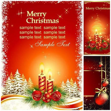 22 best Christmas Vector Advertisement pegs images on Pinterest - christmas cards sample