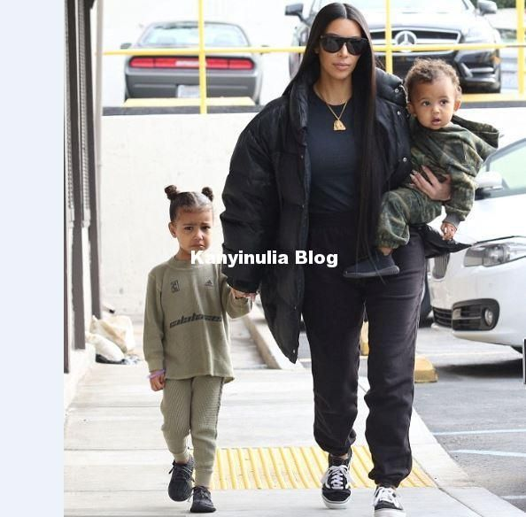 Kim Kardashian Is Worried That North West Doesnt Like Her Brother