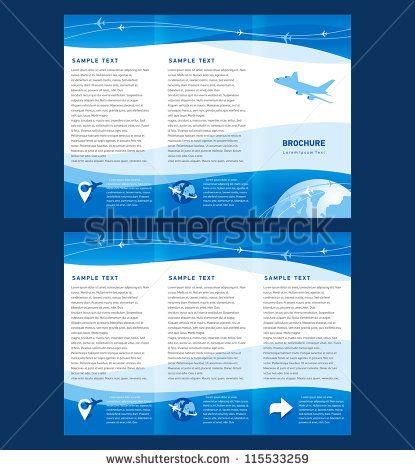 Best Broszury Images On   Brochures Flyer Design