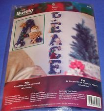 New PEACE Nativity BUCILLA Christmas Felt Wall Hanging Kit  By Maria STANZIANI