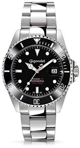 "Gigandet Herren Automatik-Armbanduhr ""Sea Ground"" Analog ..."