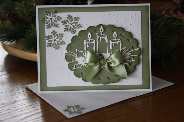 I used Glowing Candle Die from Memory Box,  Cuttlebug snowflake embossing folder, I layered snowflake punches , and used Stampin Up paper.