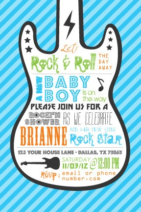 1000 images about rock star baby shower on pinterest baby shower themes rock roll and rock a. Black Bedroom Furniture Sets. Home Design Ideas