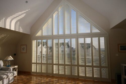 Beautiful plantation shutters. For more ideas visit www.apollo-blinds.co.uk