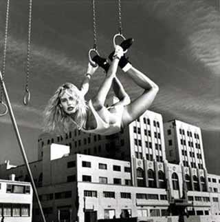 truco, aros, ciudad, el deporte urbano de la mujer, (disciplina callejera).