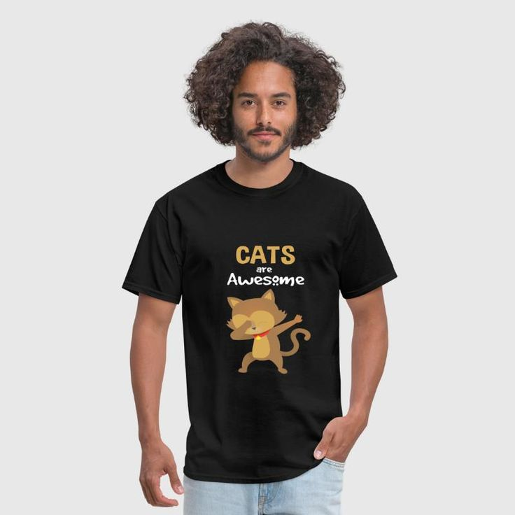 Cats are awesome Women's T-Shirt – black