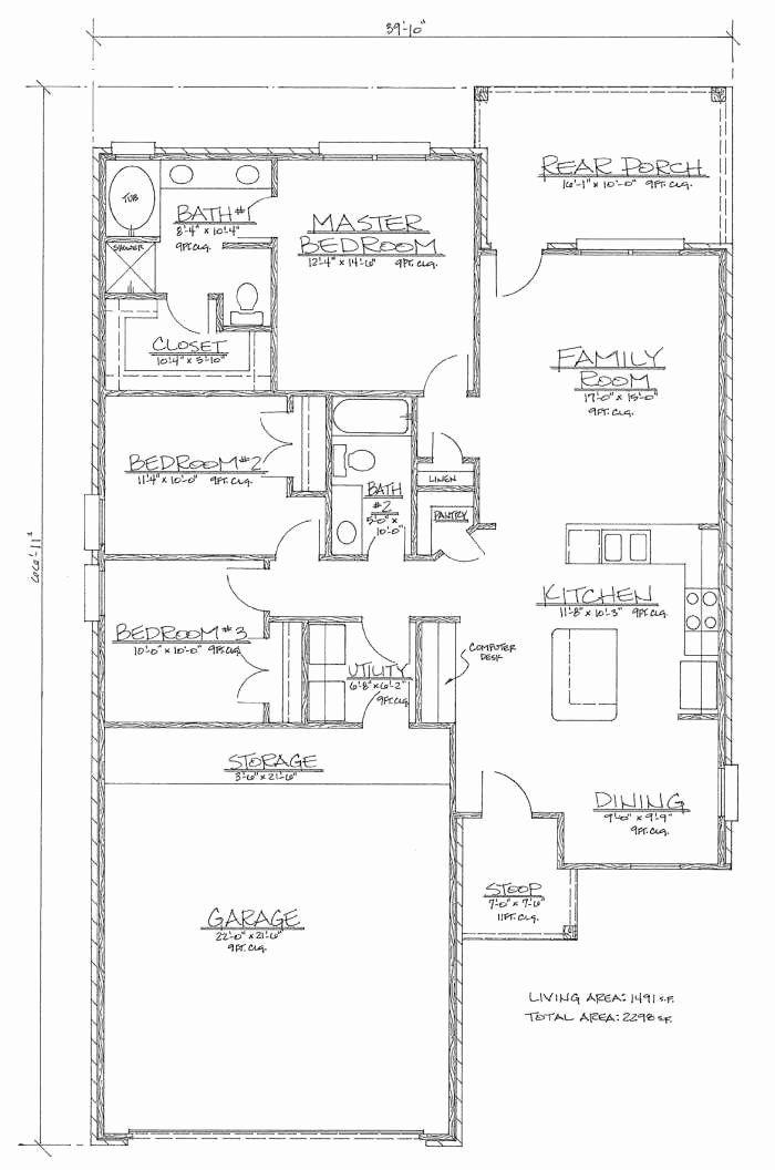 1500 Sf House Plans Fresh Stunning 16 1500 Sq Ft House Floor Plans House Plans In 2020 Square House Plans House Plans Modern Style House Plans