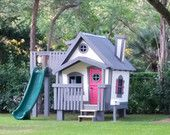 The BIG Playhouse XL Slide Platform with by ImagineThatPlayhouse
