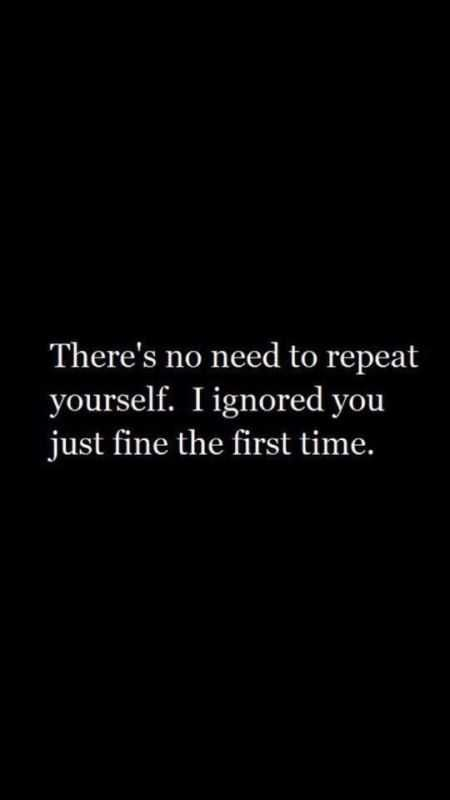 There's no need to repeat yourself. I ignored you just fine the first time.