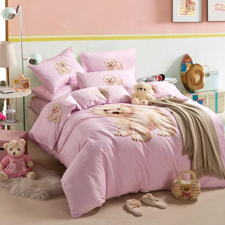 Little Bear Pink Cartoon Bedding Kids Bedding Girls Bedding Teen Bedding ·  Teen BeddingComforterScandinavian DesignCartoonBears Part 70