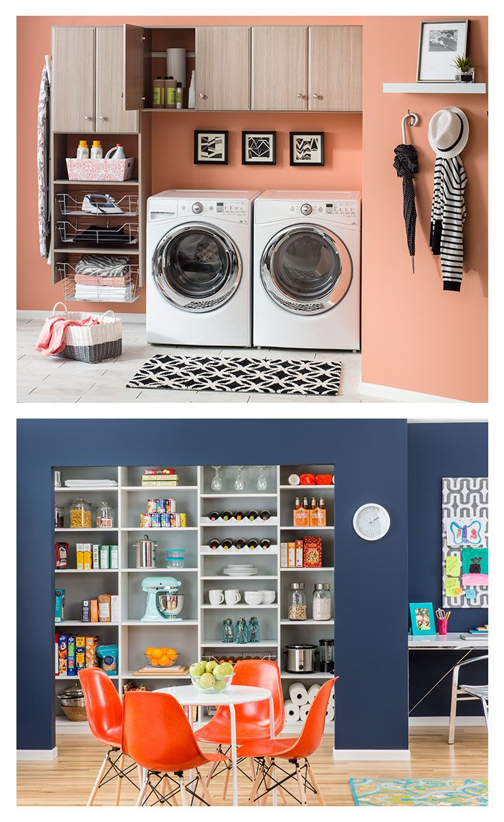 406 best storage and organization images on pinterest college life decorating ideas and - Kitchen organization ideas small spaces paint ...