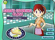 Cocina de Sara Tarta de Lima | juegos de cocina - jugar online