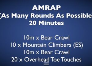 #HWOW Hillworks Workout Of the Week - 20min AMRAP