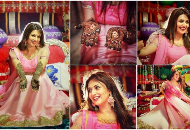 The bride to be Divyanka Tripathi is all set for her wedding vows. the bride's hands have been adorned with mehendi, and she is ready for her groom to arrive. And now, we have come across some beautiful pictures from Divyanka's mehendi! You will fall in love with her all over again once you see these. Take a look: ..  Read More