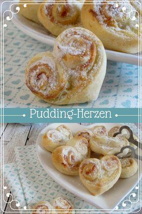 Pudding Herzen Essen Pinterest Backen Kuchen Und Teig