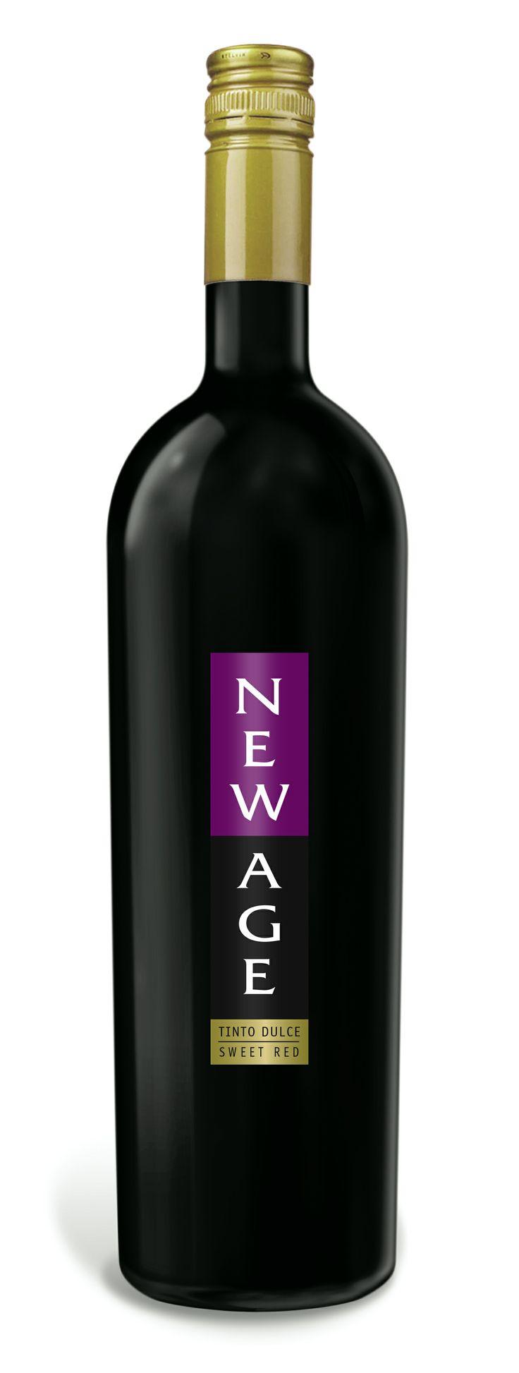 New Age Red Sweet Wine, un tinto dulce natural, con baja graduación alcoholica.