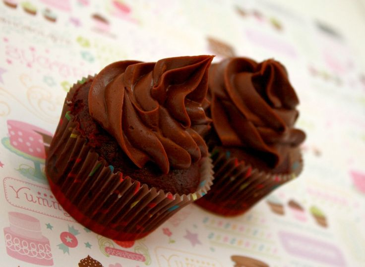 Dark Chocolate Mocha #Cupcake Recipe