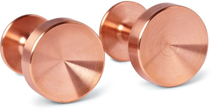 Alice Made This Alexander Copper Cufflinks